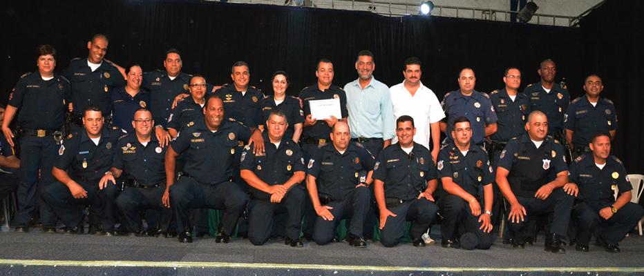 Itapevi sedia formatura de oficiais das Guardas Municipais.
