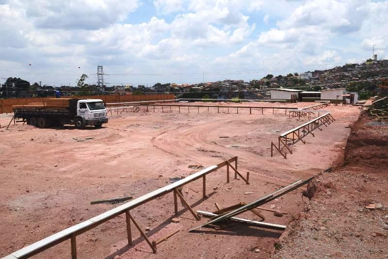 Obras de implantação da UPA 24h Itapevi seguem em ritmo acelerado