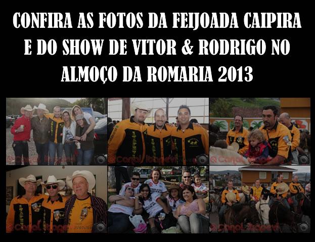Confira as fotos do Almoço da Romaria 2013
