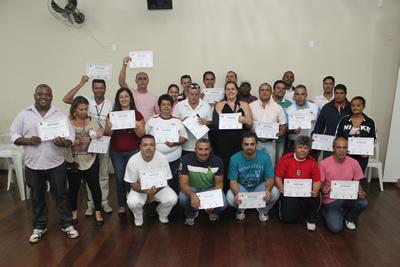 Árbitros de Itapevi e região em palestras da Fed. Paulista de Futsal