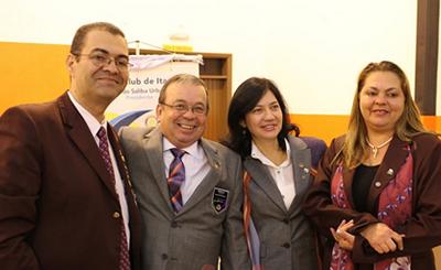 Posse do novo Presidente do Rotary Club de Itapevi