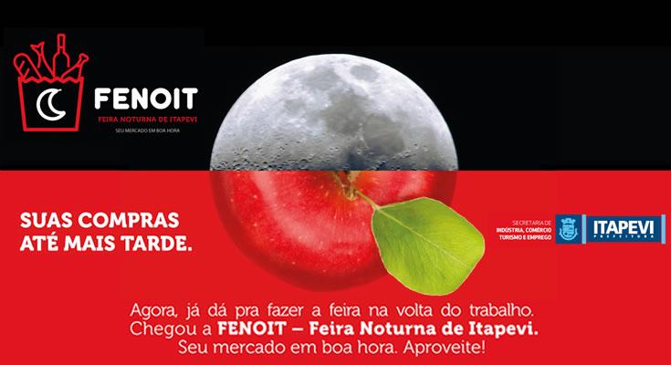 Itapevi ganha Feira Noturna a partir de quinta-feira dia 25 de janeiro