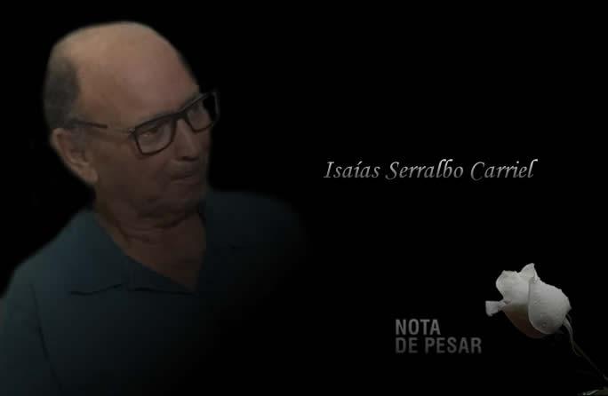 Nota de Falecimento: Isaías S. Carriel