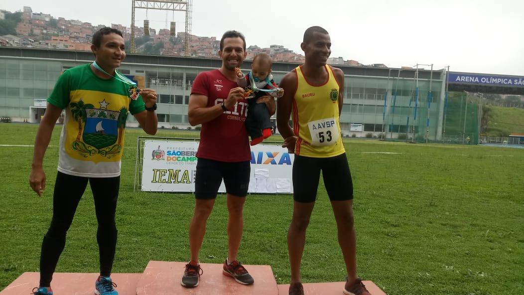 Atleta Itapeviense ganha o XIX Campeonato Brasileiro de Atletismo Master