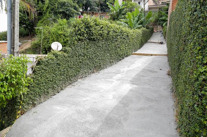 Prefeitura de Itapevi inicia pavimentação de quatro vielas