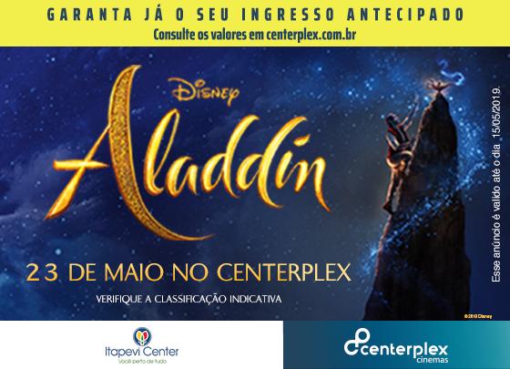 ASSISTA ALADDIN NO CENTERPLEX CINEMAS