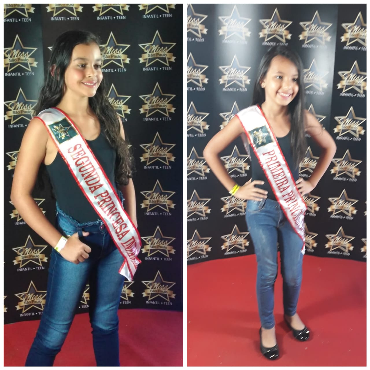 Finalistas representam Itapevi em Concurso de Princesas Teen Infantil de São Paulo