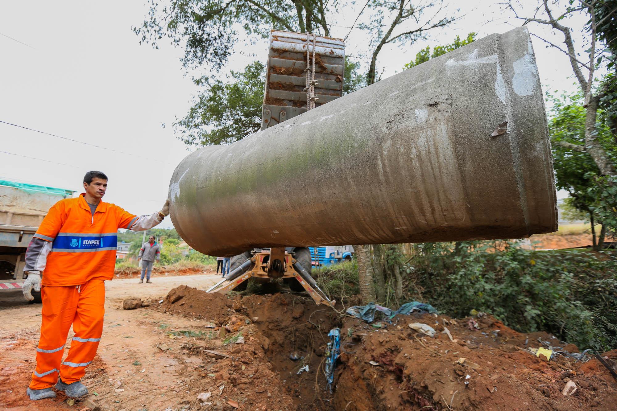 Sabesp realizará obras de rede de esgoto na região central de Itapevi