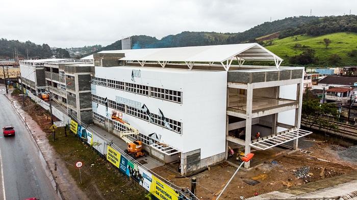 Escola do Futuro do Santa Rita tem 60% das obras concluídas