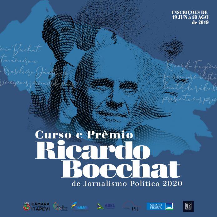Câmara de Itapevi lança curso e prêmio Ricardo Boechat de jornalismo político