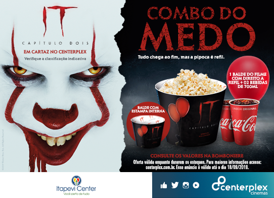 COMBO DO MEDO – IT: Capítulo II
