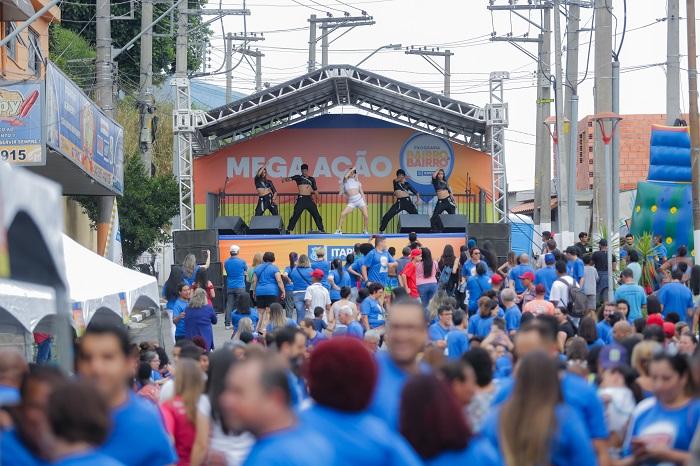 Mega Ação da Prefeitura realiza cerca de 500 atendimentos no Vitápolis