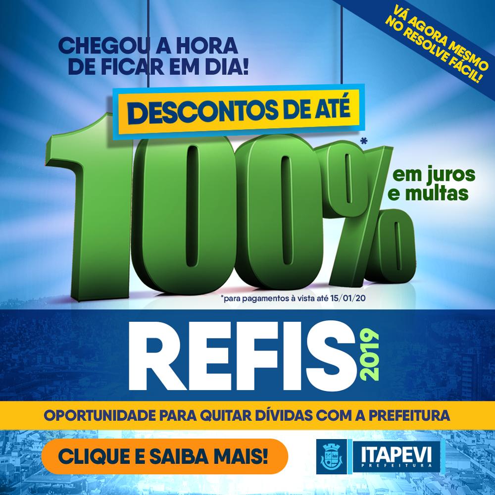 Prefeitura de Itapevi lança REFIS, programa de parcelamento de dívidas