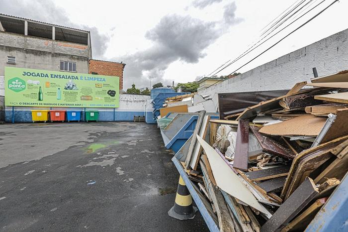 Eco Pontos de Itapevi coletaram 465 toneladas de materiais em 2019