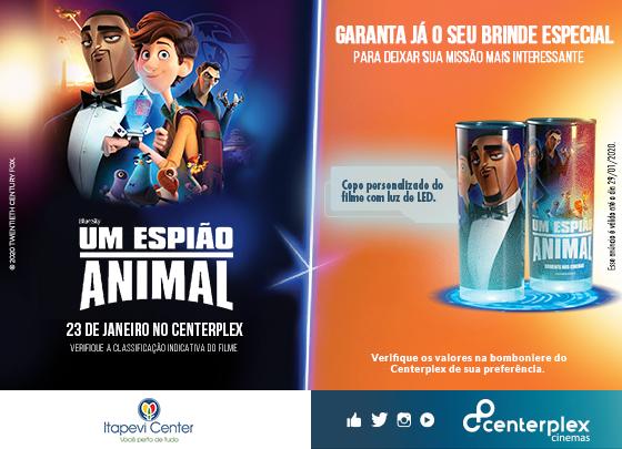 GARANTA JÁ O SEU BRINDE ESPECIAL DE UM ESPIÃO ANIMAL