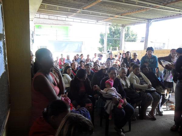 Beneficiários do Renda Cidadã Itapevi em palestra