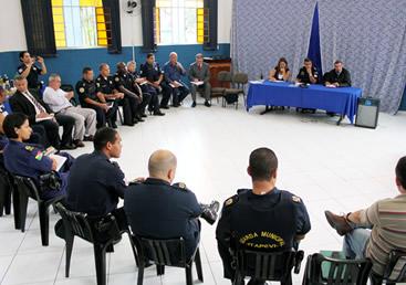 Gestão integrada de segurança entre Guardas de Itapevi e região
