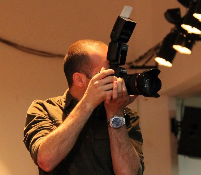 O cara por trás da câmera