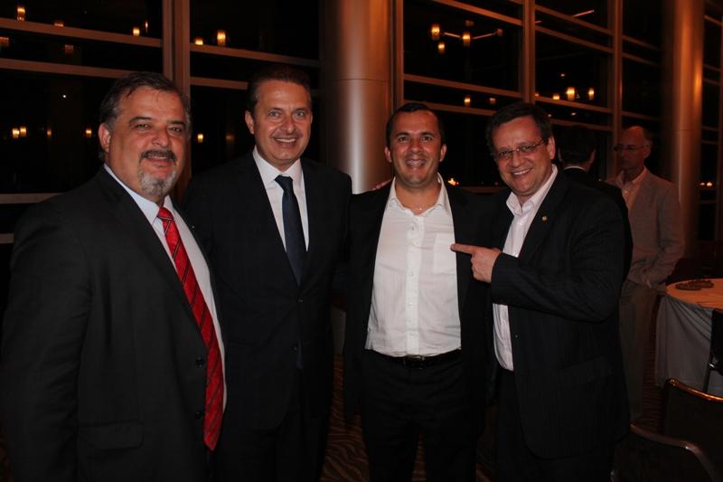 Eduardo Campos propõe candidatura à Alexandre Rodrigues a Federal