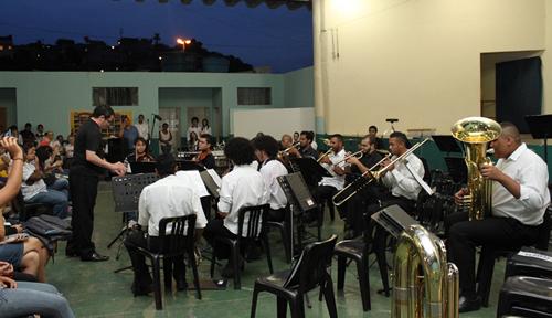Alunos de Música tem aula inaugural