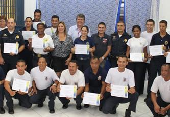 Guardas Municipais de Itapevi concluem curso de capacitação