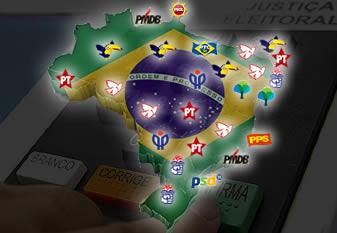 Confira o mapa das Eleições na Capitais