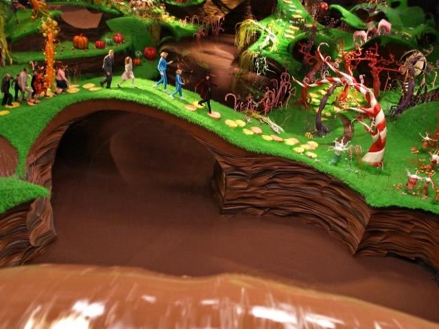 A fantástica fábrica de chocolate Cacau Show