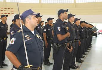 Formatura da última turma de 2012 da Guarda Municipal