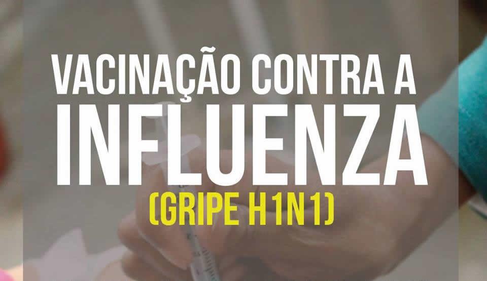 Vacinação contra aa Gripe Influenza foi prorrogada até o dia 03 de junho em Itapevi