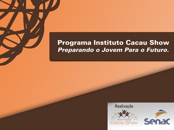 Instituto Cacau Show lança projeto de cursos gratuitos