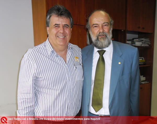 Aniversário do vice-prefeito Jaci Tadeu