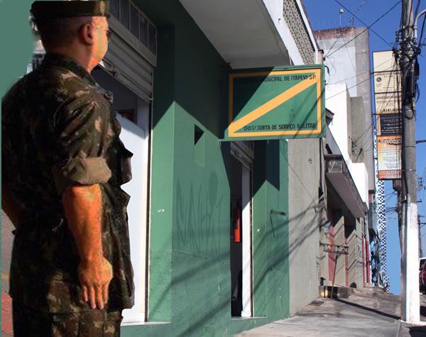 Continua o alistamento na Junta Militar em Itapevi