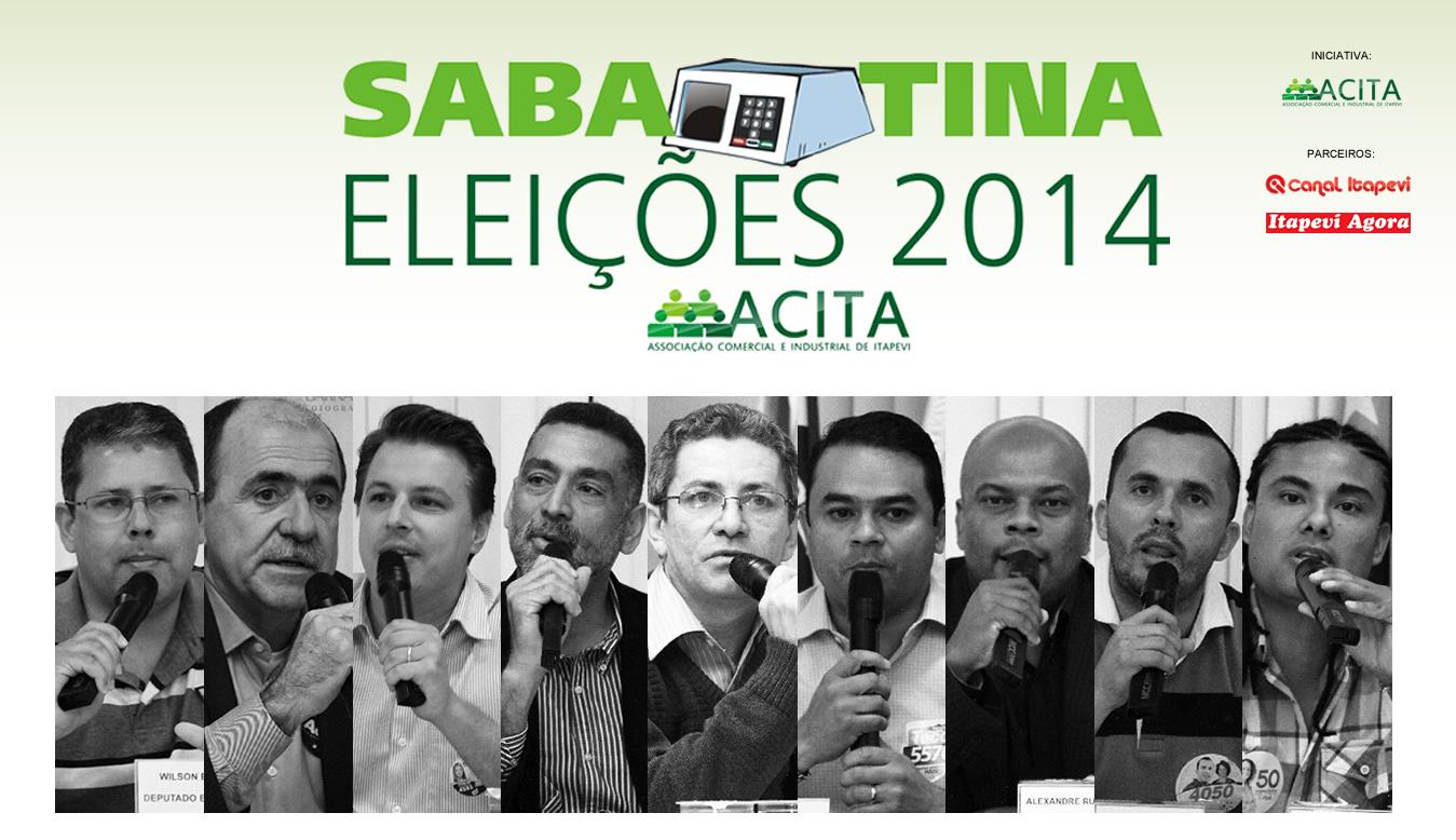 Veja as Fotos da Sabatina da ACITA dos Candidatos à Deputado de Itapevi