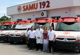 SAMU de Itapevi começará 2013 com 4 novas viaturas
